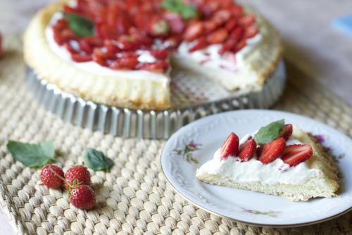 kakun täytteet mansikka